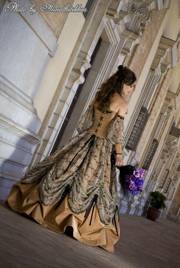 Victorian costume by ~Annathetekken on deviantART