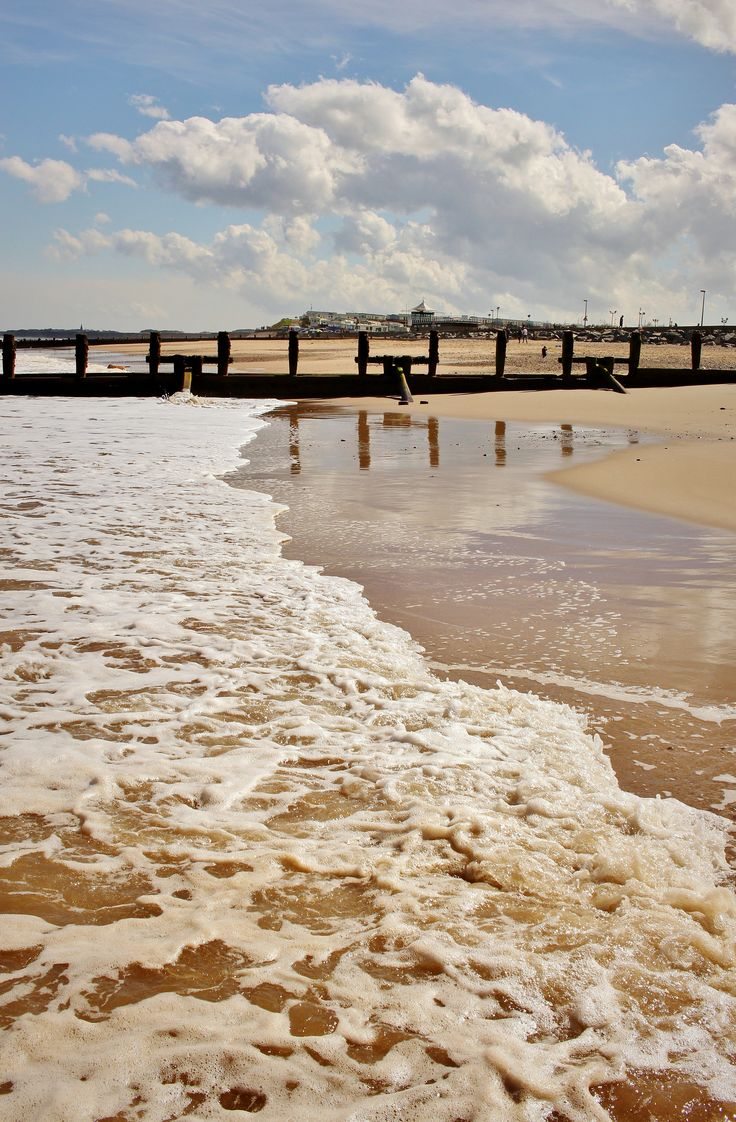 Hornsea beach.
