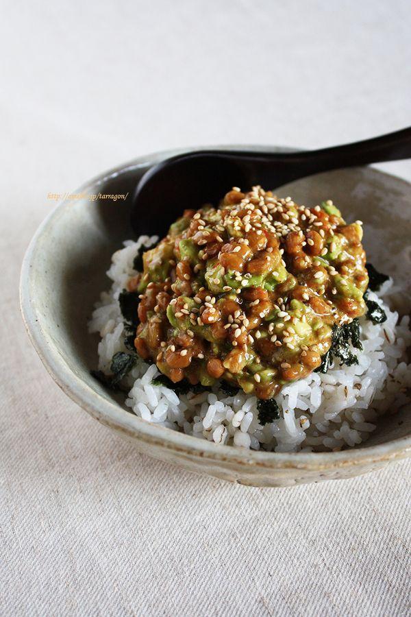 5分で完成、納豆アボユッケ丼♪ by タラゴン (奥津純子)さん / レシピサイト「ナディア / Nadia」/プロの料理を無料で検索