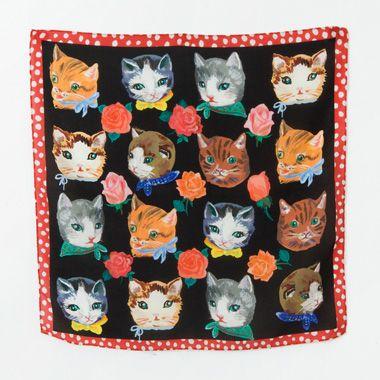 cat scarf - nathalie lete