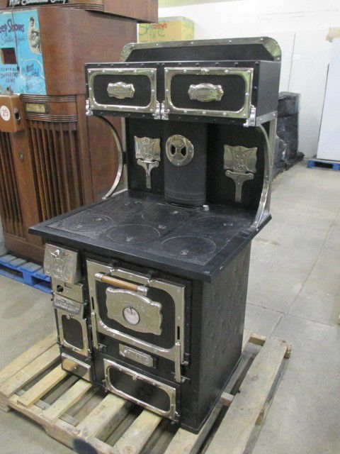 Antique Monarch Wood/Coal Burning Stove, Nickel Plated - BEAUTIFUL - 169 Best COAL STOVES/WOOD Images On Pinterest