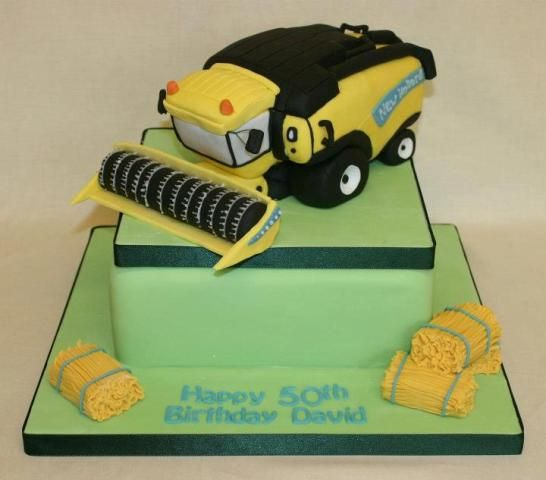 New Holland Combine  Header cake