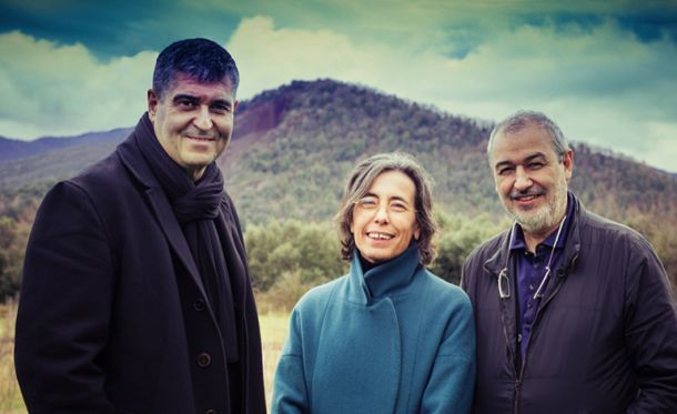 Ο Rafael Aranda, η Carme Pigem και ο Ramón Vilalta από το ισπανικό γραφείο RCR Arquitectes έλαβαν για το 2017 το Βραβείο Αρχιτεκτονικής Pritzker.