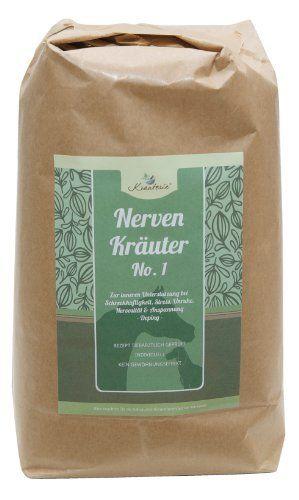 Nerven Kräuter No. 1 (stark) für Hunde - Hundekräuter zur Beruhigung bei Stress, Angst, Unruhe, Anspannung etc. | Mit Baldrian & Hopfen in Arzneibuch-Qualität | 250 g PULVER, http://www.amazon.de/dp/B00KA5YJLQ/ref=cm_sw_r_pi_awdl_W6FQvb173T7MF