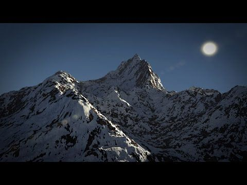 ▶ Blender 2.71 Tutorial - Create a Mountain Scene - YouTube