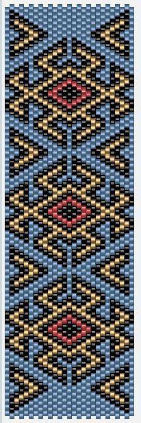 Еще мозаичные браслеты | biser.info - Бисер и бисероплетение