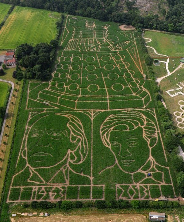 70 Best images about Maze on Pinterest | Hedges, Confusion ...