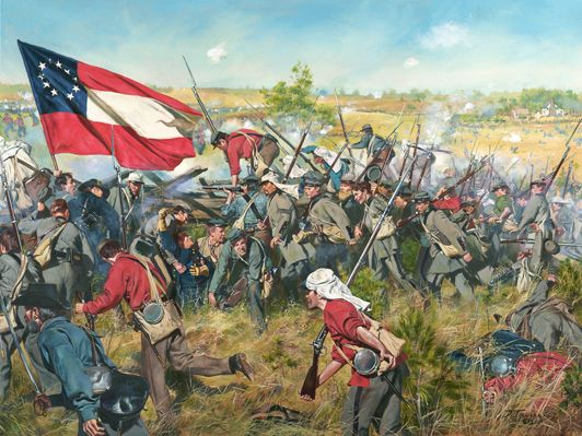 the events during the first battle of bull run in america 2018-4-27 the beginning of the american civil war takes place at fort sumter in south  first battle of bull run  general lee had the upper-hand during the skirmishes.
