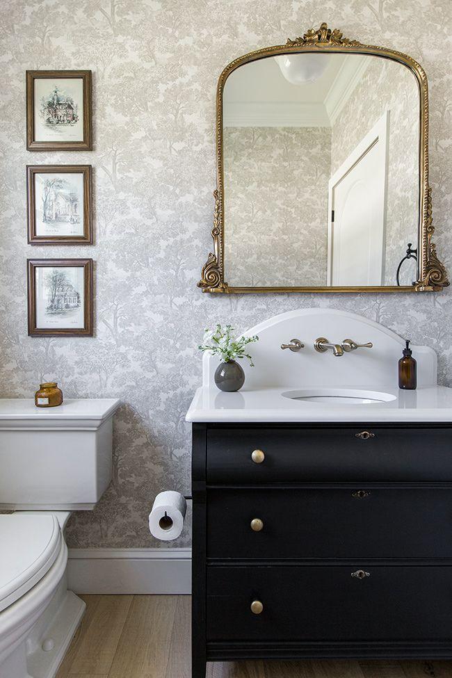 18+ Fancy powder room vanity model