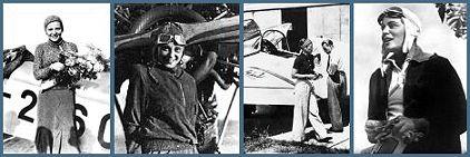 """HANNOVER * Elly Beinhorn – """"eine der wagemutigsten Frauen des 20. Jahrhunderts"""", so der Klappentext ihrer Autobiographie """"Alleinflug"""" – wurde 1907 als einziges Kind einer Kaufmannsfamilie in Hannover geboren, wo sie auch das Schiller-Lyceum absolvierte. Ein Vortrag des Ozeanfliegers Köhl 1928 faszinierte sie so nachhaltig, daß sie sich gleich um die Aufnahme an der Sportfliegerschule in Berlin-Staaken bemühte und im Frühjahr 1929 den Sportflugzeugführerschein und wenig später an der Fliegers"""