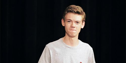 Thomas Brodie Sangster (Newt) in The Maze Runner (1) Tumblr