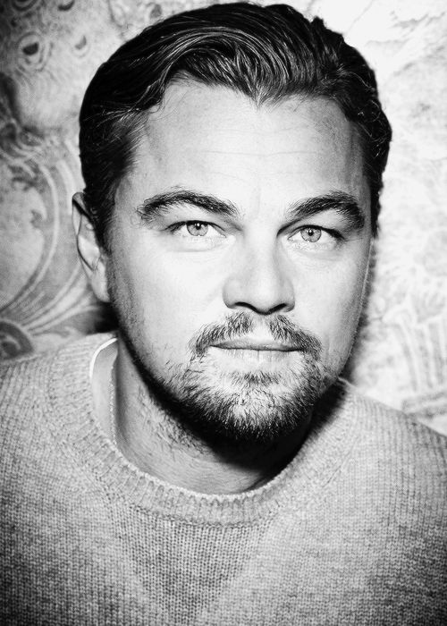 Leonardo DiCaprio photographed by Ralph Wenig for Le Figaro's TV Magazine.