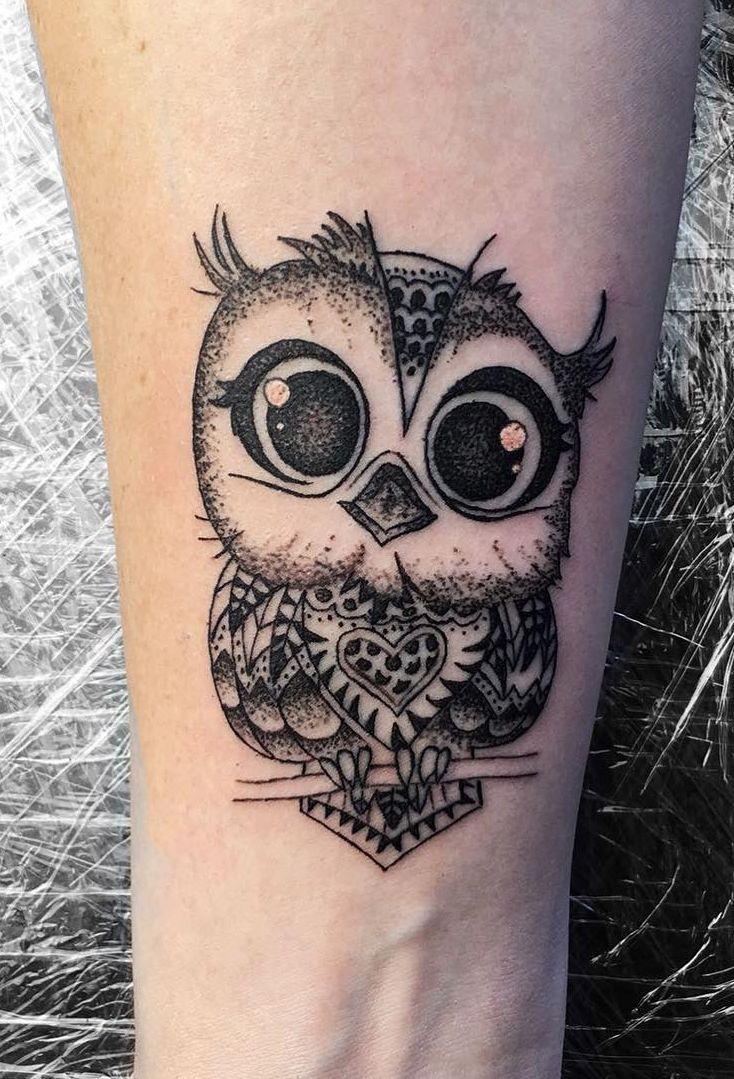 Cute Owl Tattoo C Tattoo Artist Black Moon Tattoo Owl Tattoo Design Cute Owl Tattoo Owl Tattoo
