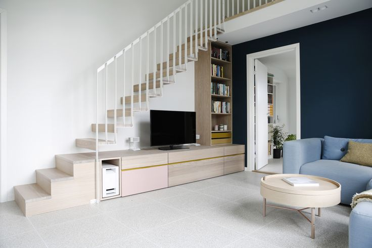 nyfelt og strand interiørarkitekter, enebolig Tønsberg, trapp