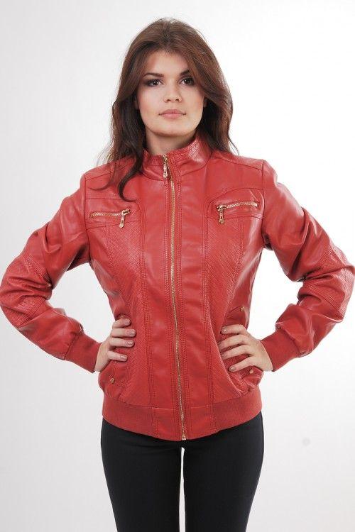 Куртка К167 Размеры: 50 Цвет: красный Цена: 600 руб.  http://optom24.ru/kurtka-k167/ #одежда #женщинам #куртки #оптом24