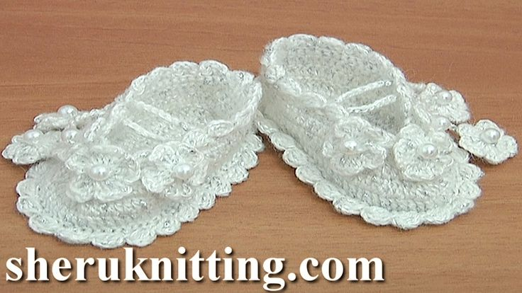 CROCHET BABY  BOOTS We invite you to visit https://www.sheruknitting.com/ There are over 800 video tutorials of crochet and knitting in different techniques. Also, you can see unique authors' design in these tutorials only on a website and only for members  JOIN NOW  https://www.sheruknitting.com/membership.html 1.No advertising on all tutorials 2.Valuable in different devices 3.Step by step and detailed video tutorials 4.New courses added every week...