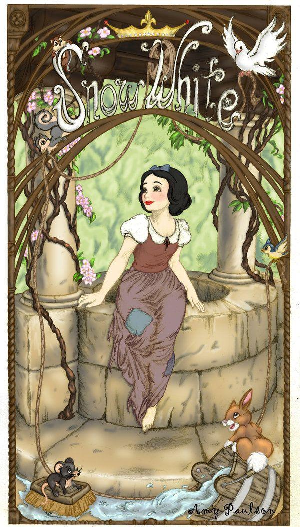 Snow White - Disney Princess Fan Art (14986444) - Fanpop fanclubs