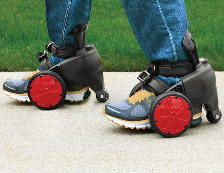SpnKix - Motorized Electric Skates-  OMG- I'd end up in the emergency room forsure!