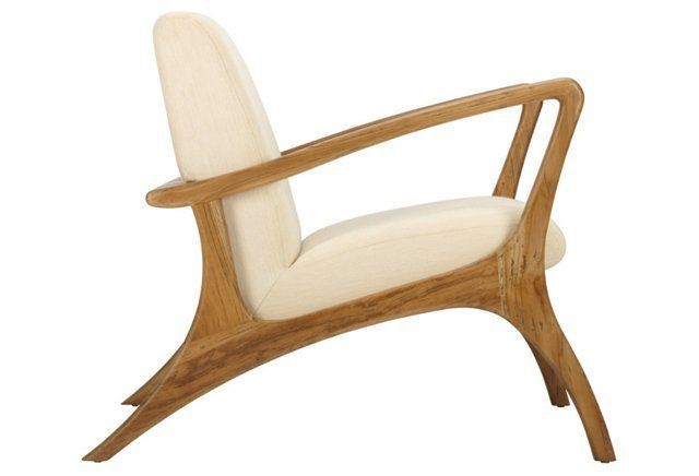Leticia Ventura Armchair Ivory Armchairs Ivory And