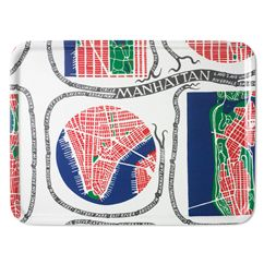 Bricka Rektangulär Manhattan