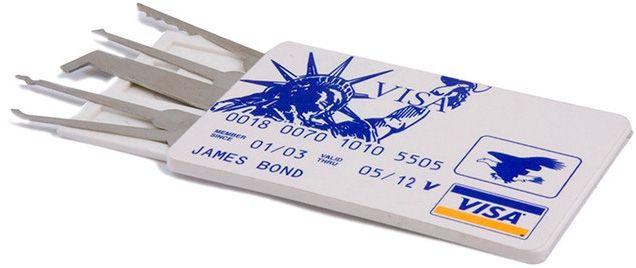 Check out the deal on Credit Card Lock Pick Set at LockPickShop.com