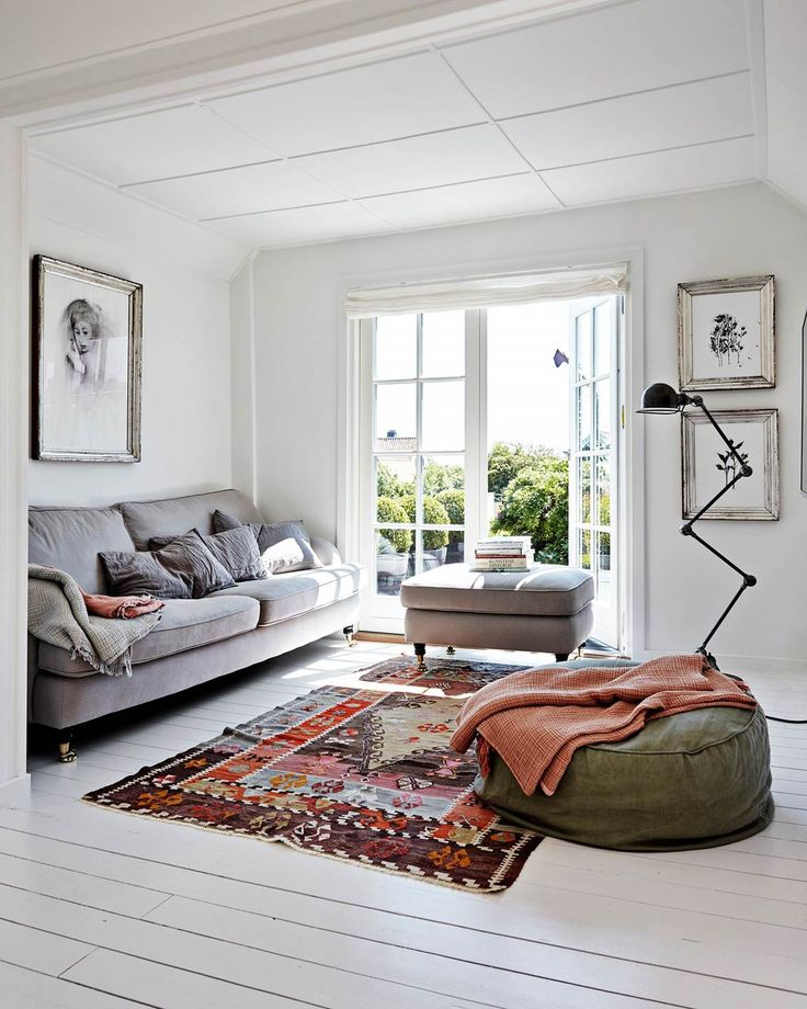 The makeover of a Scandinavian style holiday home in