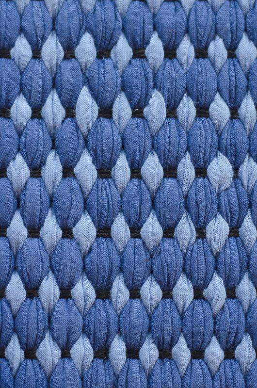 Mattor , blåa nyanser