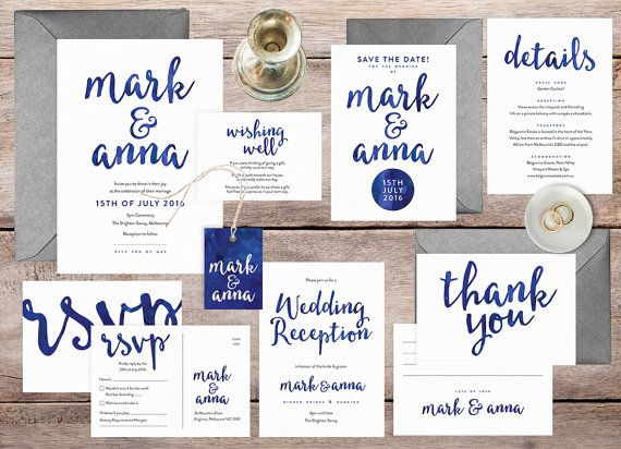 Best 25 Navy wedding invitation sets ideas on Pinterest Preppy