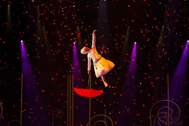 Un'immagine del film Cirque du Soleil - Mondi Lontani 3D, in Blu-ray 3D, Blu-ray e Dvd dall'8 maggio