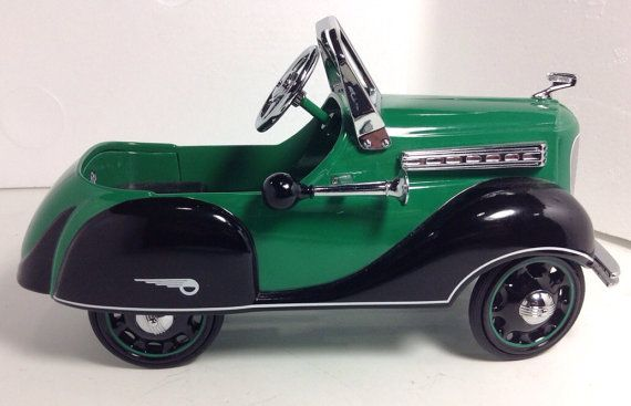 Garton Pedal Car Diecast metal model vintage antique limited edition toy child classic collector collectible on Etsy, $47.50
