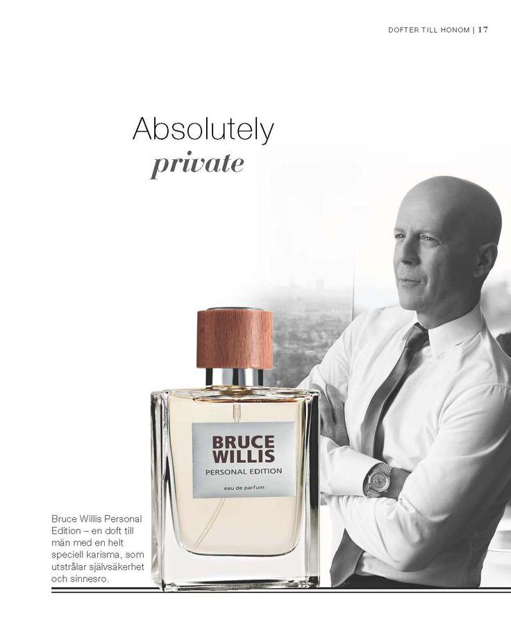 #Bruce #Willis #Parfym# #Personal Citrusfrukt & svartpeppar ger doften en fräsch start. Aromatiska noter förmedlat med en touche av tobak - utstrålar en karakteristisk maskulin elegans. En kraftig bas med ett sensuellt accord av läder & dyrbar Oud ger doften sin unika prägel som speglar den privata sidan av Bruce Willis.