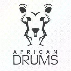 African Drums logo