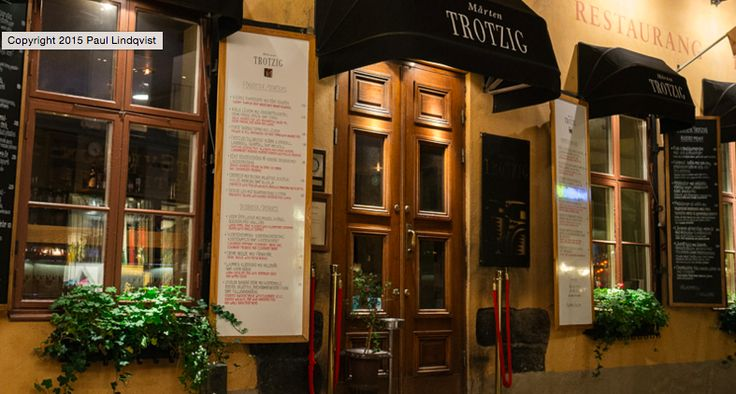 Restaurang Mårten Trotzig à Stockholm, Storstockholm Amazing food