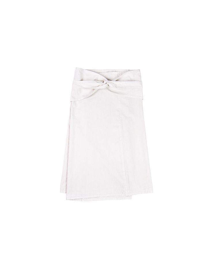 [Center for COSMIC WONDER Online Store コズミックワンダー 公式通販] キャンバスのラップスカート