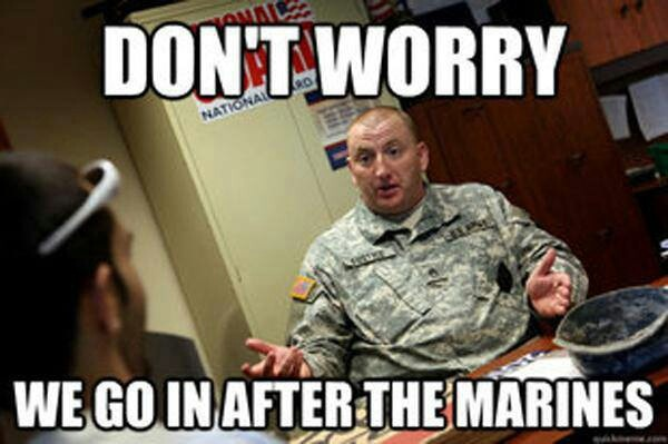 Army recruiter's pitch!   Funny army memes, Army humor ...