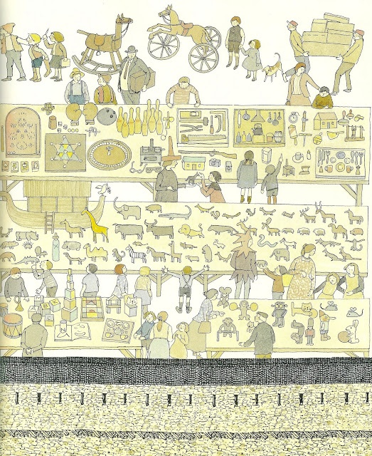 Anno's Flea Market by Mitsumasa Anno