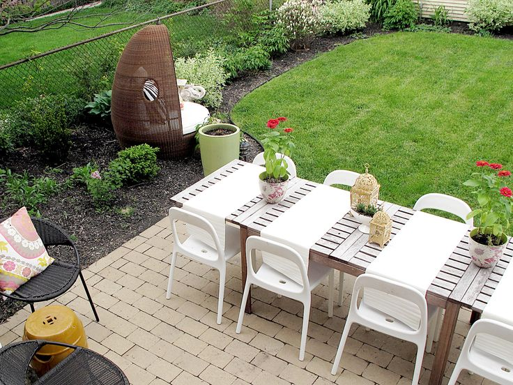 29 best Outdoor Dining Table Ideas images on Pinterest Dining