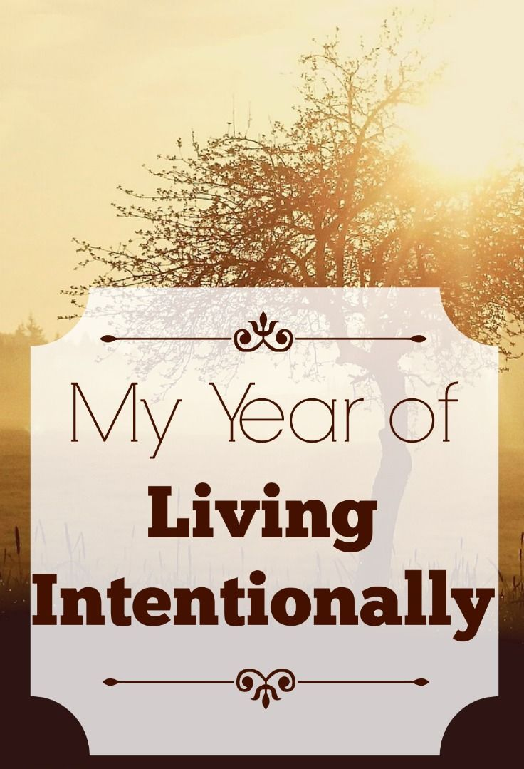 Last year I made the decision to spend my summer living intentionally. But after changing my life, I decided to keep it going.