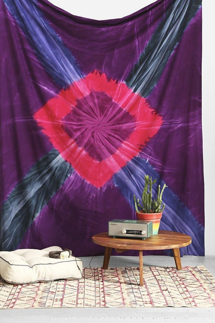Buying this Magical Thinking Marley Tie-Dye Tapestry on Keep is the fastest  way to brighten up a plain white wall