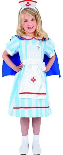 Speurders.nl: Meisjes Kostuum Zuster, carnaval, verpleegster, themafeest