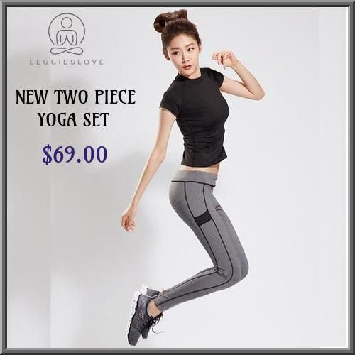 Grey colored leggings will make you appear great while doing yoga. Choose Leggieslove yoga leggings that leave you in comfort all the times. #leggieslove #leggings #blackleggings #greyleggings #fitnesspants #yogaleggings #legginsforsale #fitnesspants #yogapants #yogalovers #beachyoga #gym #exercise