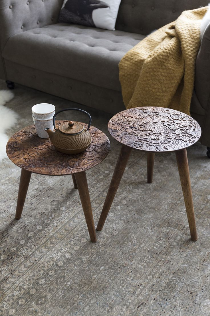 By hand side tables