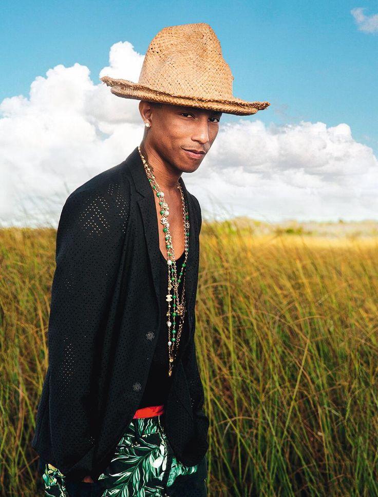 """Portrait de @Pharrell Williams, l'irrésistible rappeur de """"Happy"""""""