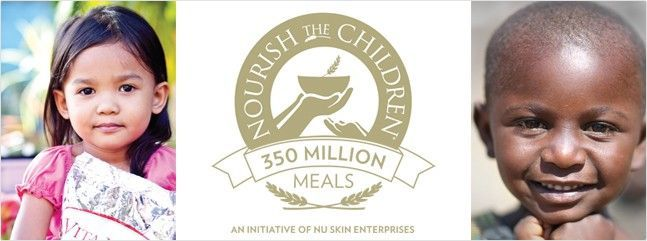 Nu Skin's Nourish the Children (NTC) Initiative recently surpassed 350 million donated meals.