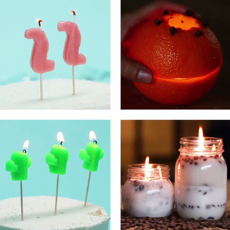 4 Easy To Make Candles