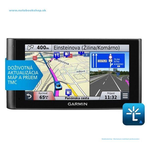 Garmin nüviCam LMT Lifetime -  unikátna GPS navigácia s kamerou, funkciou Real Vision a upozornením na kolíziu.