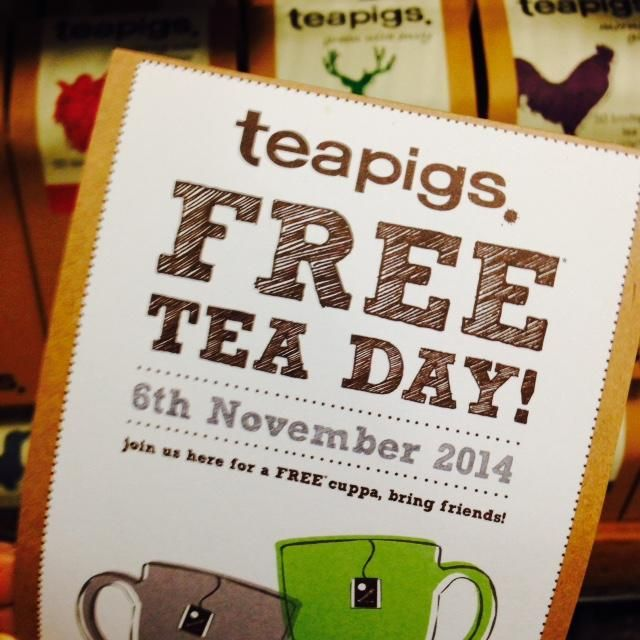 Butty Boy taking part in #teapigsfreeteaday
