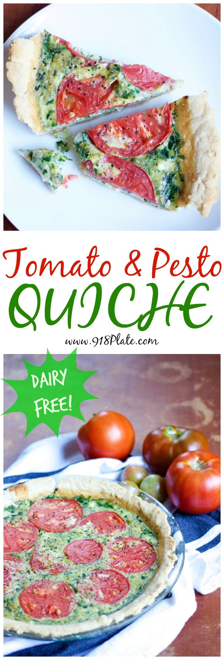 Blue apron quiche artichoke - This Dairy Free Tomato And Pesto Quiche Is Savory In All The Best Ways