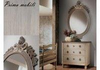 KE 71 овальное зеркало в деревянной раме, фабрика Salda Arredamenti