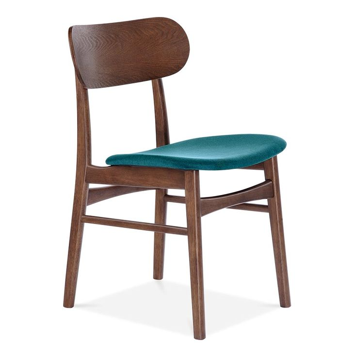 Cult Living Modernist Upholstered Dining Chair With Seat Colour Option